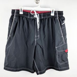 Speedo Adjustable Waist Swim Trunks